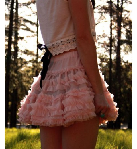 Multi-layers Ballerina Skirt