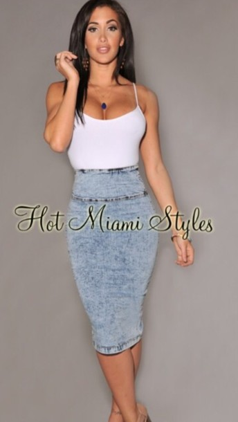 bodycon skirt denim skirt skirt