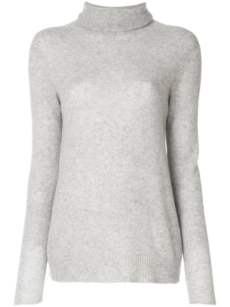 Majestic Filatures jumper women grey sweater