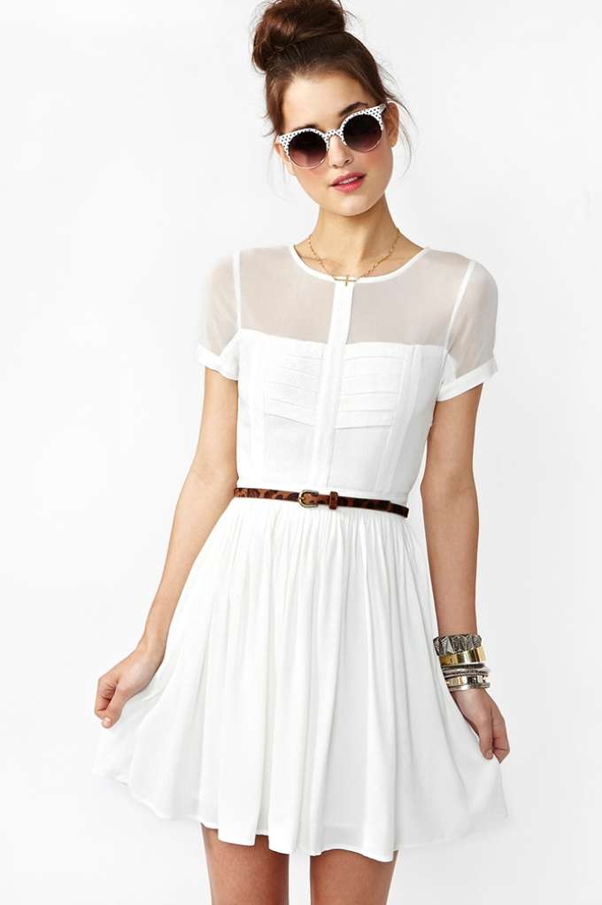 Light Wave Dress | Shop Clothes at Nasty Gal