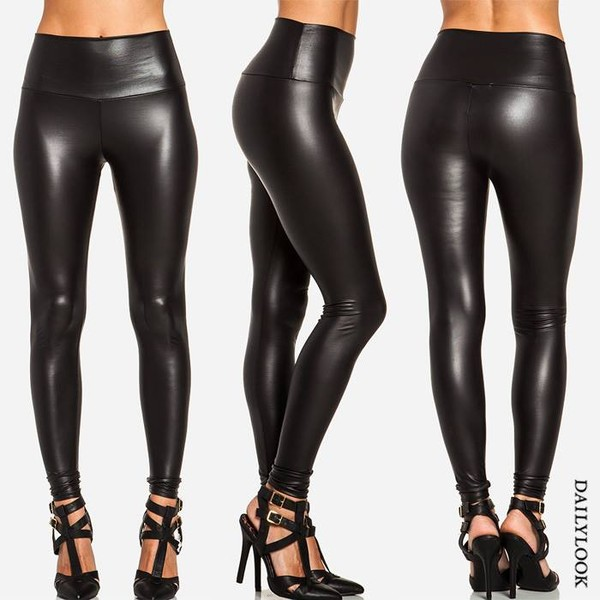 pants faux leather leggings leather pants leather leggings