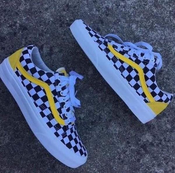 Yellow Checkered Custom