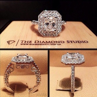 jewels ring diamond ring engagement ring