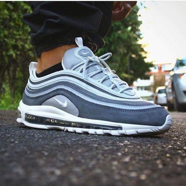 shoes Air max 97 nike blue suede 10dad2833d7f