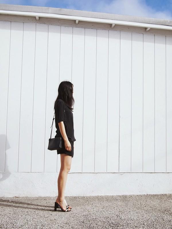 andy heart shirt skirt bag shoes