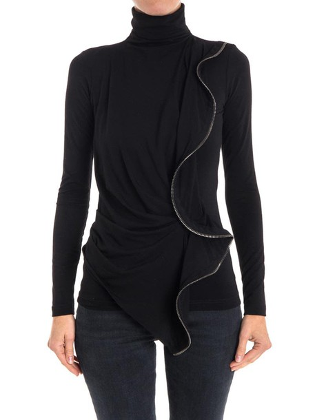Plein Sud Jeanius t-shirt shirt t-shirt black top