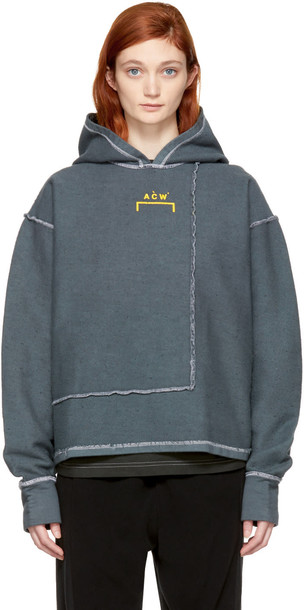 A-cold-wall* hoodie grey sweater