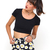 Buy Motel Mizzy Short in Wild Daisy Black and White at Motel Rocks