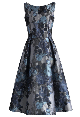 dress absolute fine art jacquard prom dress printed dress prom dress party dress floral dress