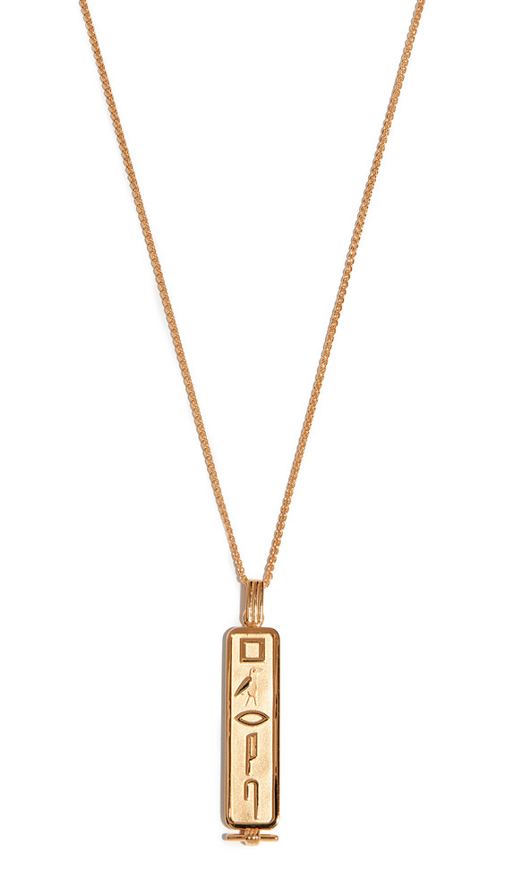 Lucy Folk Le Memphis Necklace in gold / yellow