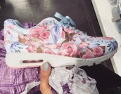 shoes,nike running shoes,pastel,pretty,girl,girly,spring,sportswear,fitness,fitness shoes,pretty in pastel,blossom,blossoms,girly shoes,nike,floral,sneakers,kawaii,nike shoes,floral shoes,blue,pink,purple,girls sneakers,nikeairmaxpink