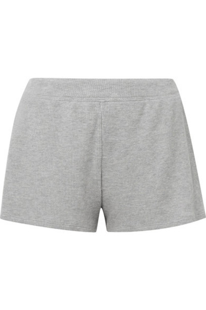 Skin shorts cotton knit