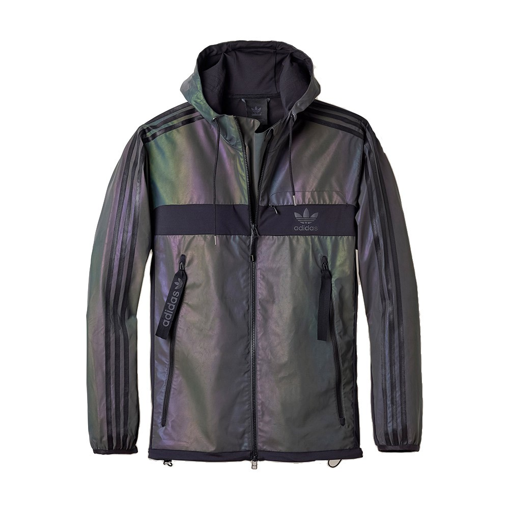 jacket adidas windbreaker coat adidas holographic
