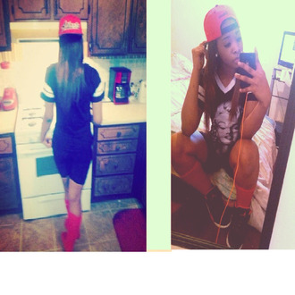marilyn monroe red jersey jersey dress