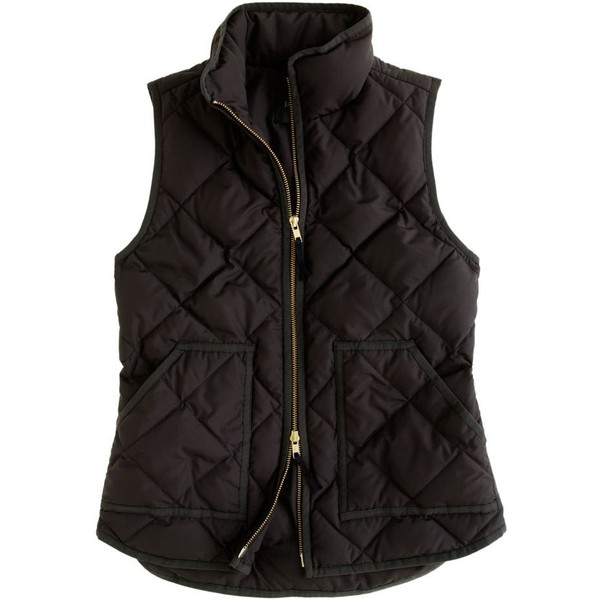 J.Crew Excursion quilted vest - Polyvore