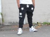 pants,black,stars