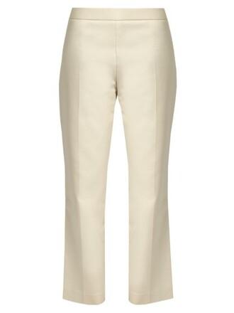 cropped cotton pants