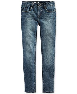 DKNY Little Girls' Skinny Hipster Jeans - Kids - Macy's