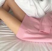 sweater,pink,pastel dress,jumper,dress,oversized sweater,oversized t-shirt,style,cute sweater,pale,pastel pink