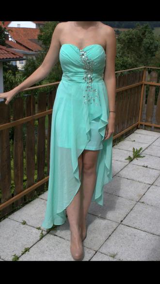 prom dress glitter high low prom dresses high-low dresses sleeveless dress sleeveless long prom dress short prom dress high low dress green dress blue dress