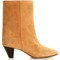 étoile dyna cone-heel suede ankle boots