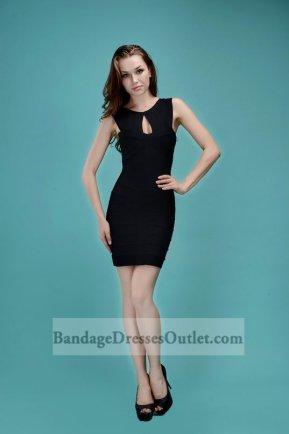 Sexy Black Sleeveless Keyhole Bandage Dress Outlet [Black Sleeveless Keyhole] - $158.00 : Cheap Bandage Dresses Online, Wholesale Price Bandage Dresses Outlet