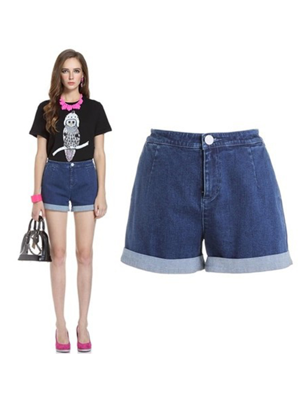 Summer Street Mini Denim Pants : KissChic.com