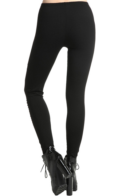 Ripped Slit Leggings u2013 Outfit Made