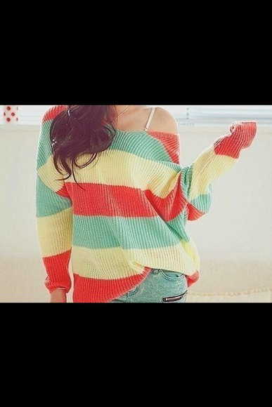 rasta sweater ganja