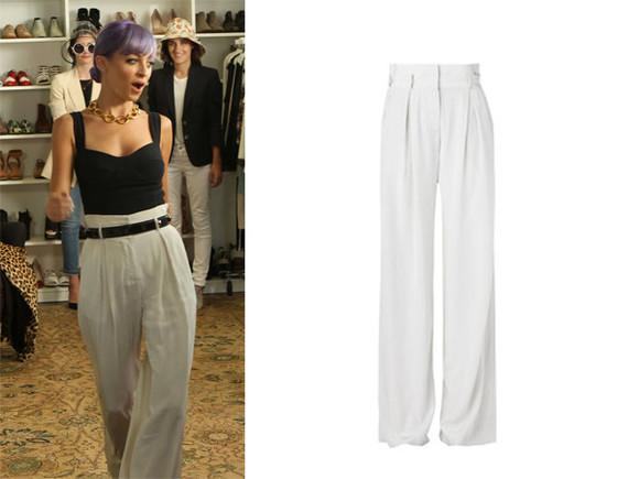 nicole richie top pants high waisted pants
