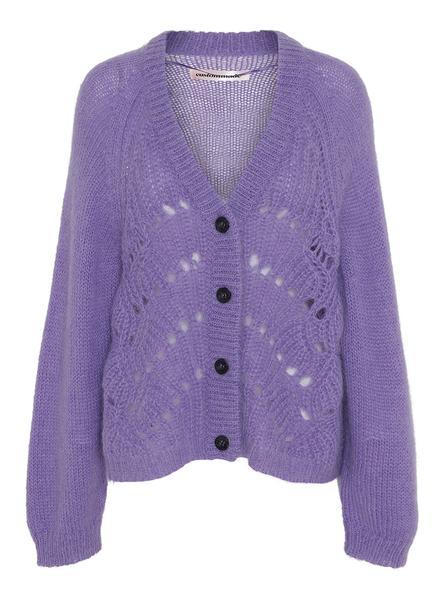 Ulrikke Cardigan - Dahlia purple