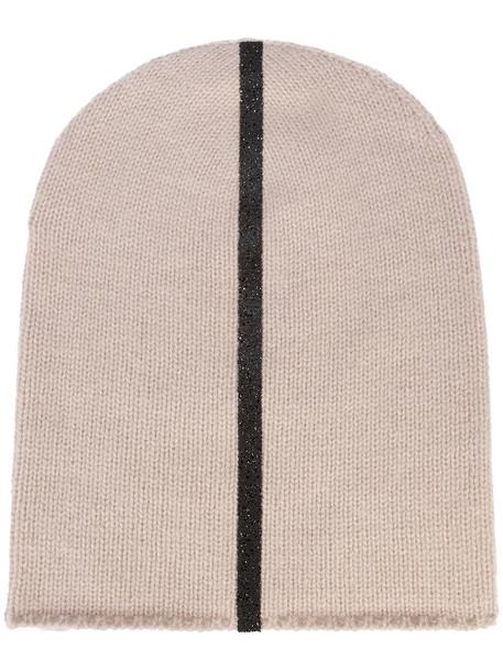 warm beanie nude hat