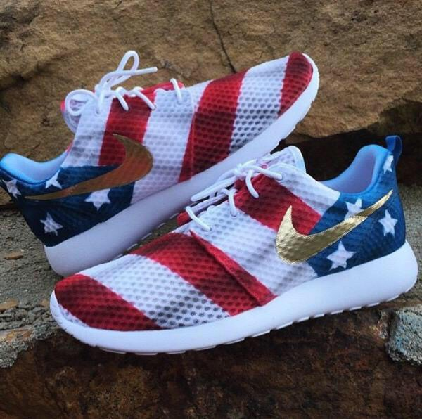 shoes nike nike sneakers american flag nike roshe run nike running shoes  nike shoes usa sneakers