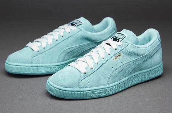 fc1484d2a6c Puma Womens Suede Classic - Womens Select Footwear - Blue Light
