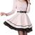 OL Big Hem Tutu Skirt Princess Long Sleeve Dress - PrettyGuide