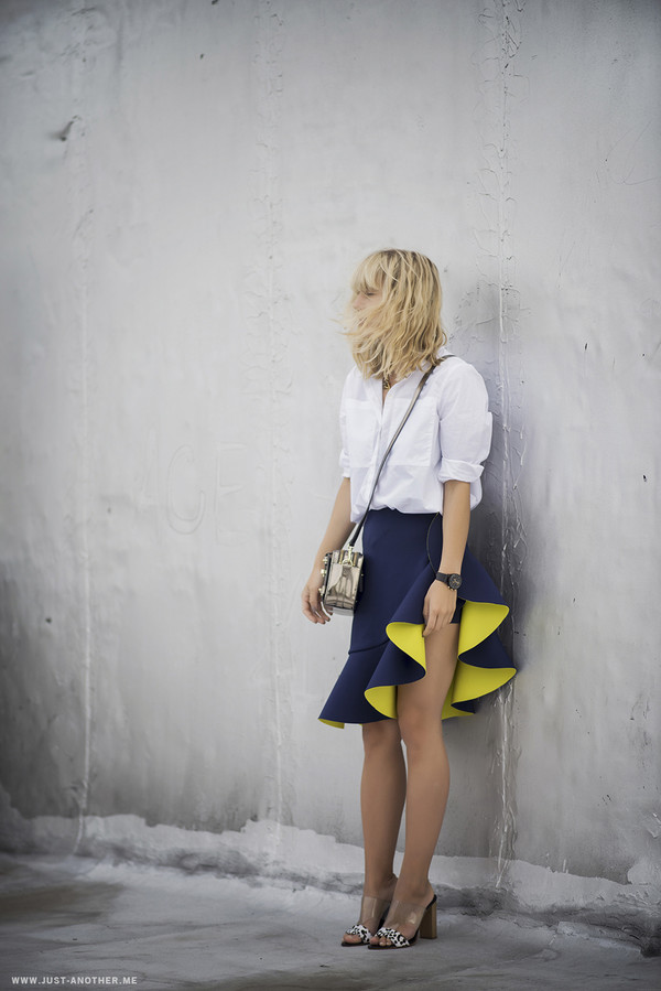 just another me blogger skirt shoes bag jewels