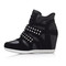 Wedge rivets sneakers - 2 colors | wow awesome world