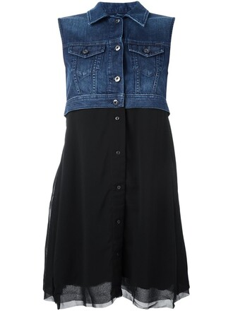 dress denim black