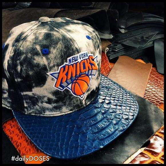 hat snapback snapback hat croc style knicks hat