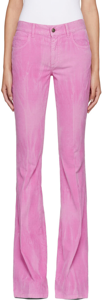 flare new pink pants