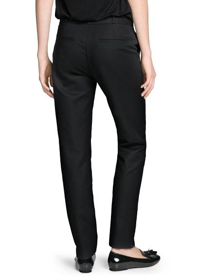 MANGO - PRENDAS - Abrigos - Pantalón traje algodón