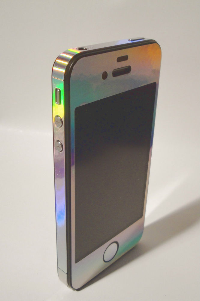 iPhone 5 * RAINBOW * Vinyl Sticker for iPhone 5 Full Body Vinyl Decal Skin