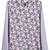 Pink Floral Ruffle Collar Lace Chiffon Blouse - Sheinside.com