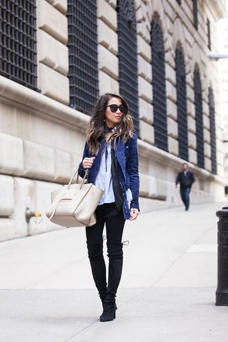 wendy's lookbook scarf blogger top jacket shirt shoes bag sunglasses