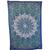 Blue Star Mandala Tapestry Twin Size