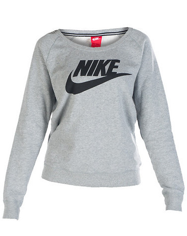 NIKE RALLY CREW SWEATSHIRT - Grey - NIKE
