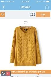 sweater,long sweaters,long sweater,long sweatshirt,mustard,yellow,knitted sweater,mustard sweater