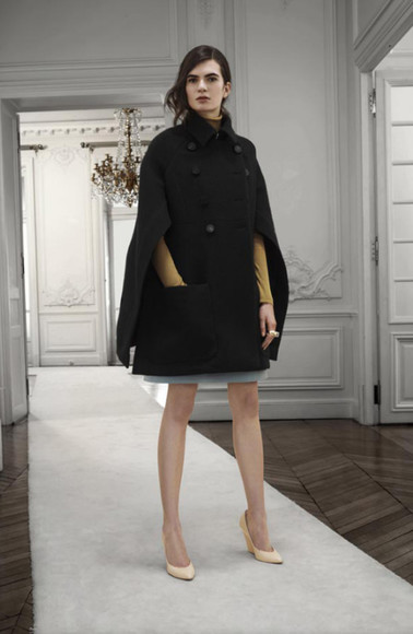 chloé fashion lookbook coat