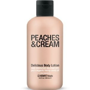 Amazon.com : Hempz Treats Delicious Body Lotion, Peaches and Cream, 8.5 Ounce : Beauty