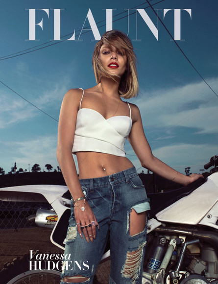 vanessa hudgens jewels jewelry, bracelet, ring, girly jeans flaunt magazine top